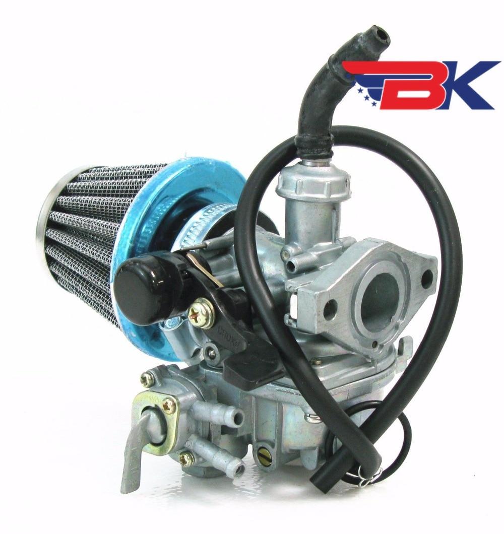 Carburetor W/ Air Filter For Honda CT70 ST70 CT90 ST90 Mini Trail Bike Carb