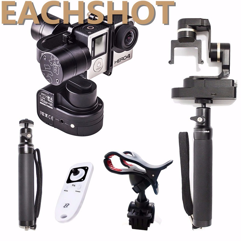 Zhiyun Z1 Rider M 2 in 1 Wearable & handheld 3 Axis Gimbal Stablizer for Gopro 3+ 4 & Remote Control & Selfie Stick & Holder