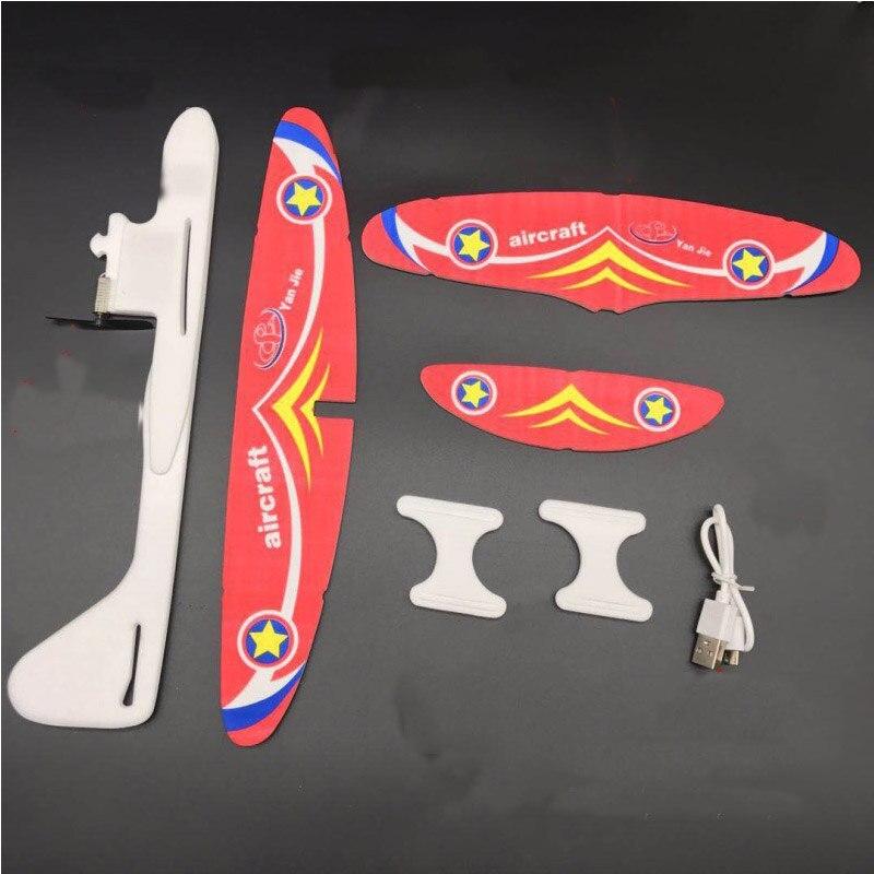 Condensateur d'avion en mousse EPP Durable, pour enfants, ensemble d'avions, bricolage, bricolage, modèle d'avion, planeur, jouets d'anniversaire pour enfants 6