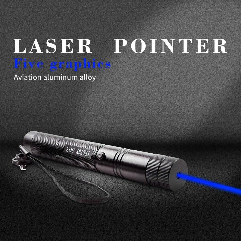 JSHFEI лазерная указка горячая Распродажа Синяя лазерная ручка астрономия лазерная ручка луч ручка может сжечь спички доступны для детских за...