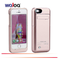 WOJOQ External Battery 2200mAh Charger Case Power Bank Case For IPhone 5 5C 5S SE Backup