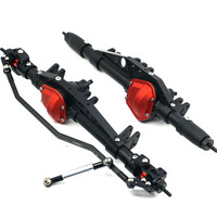 1/10 RC Crawler Car Full Alloy Front And Rear Axles For Wraith 90018 Axial Free Shipping