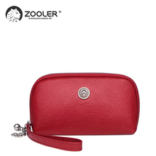 ZOOLER Luxury wallets woman 2019 designer genuine leather bag for women cow coin purse mini small wallet-QH201