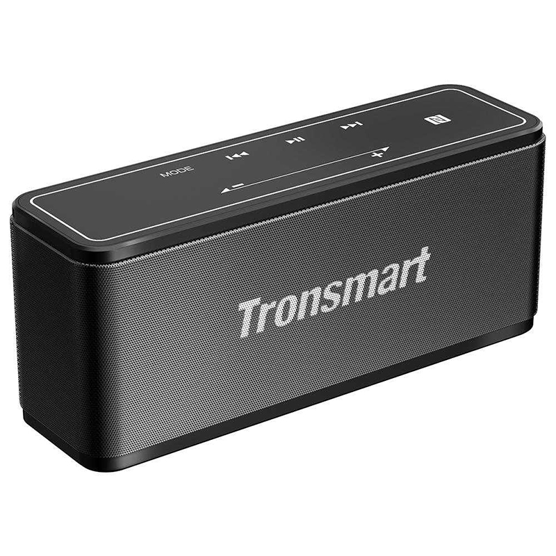 Tronsmart Element Mega Bluetooth Speaker Wireless Speaker 3D Digital Sound TWS 40W Output NFC 20m Portable Speaker MicroSD Card цена