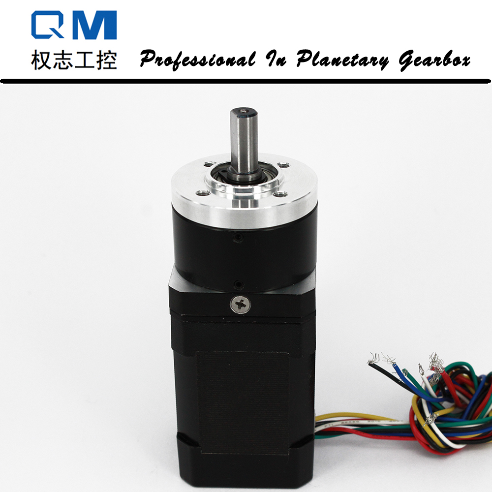 Nema 17 60W 24V gear brushless dc motor planetary reduction gearbox ratio 4:1 dental endodontic root canal endo motor wireless reciprocating 16 1 reduction