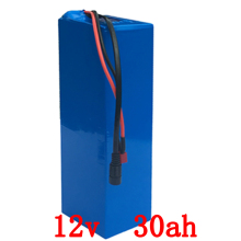250W 12V Lithium ion battery 30AH 12V 30000MAH 30AH Rechargeable 12V 3S Battery with 20A BMS 12.6V 5A charger Free Shipping