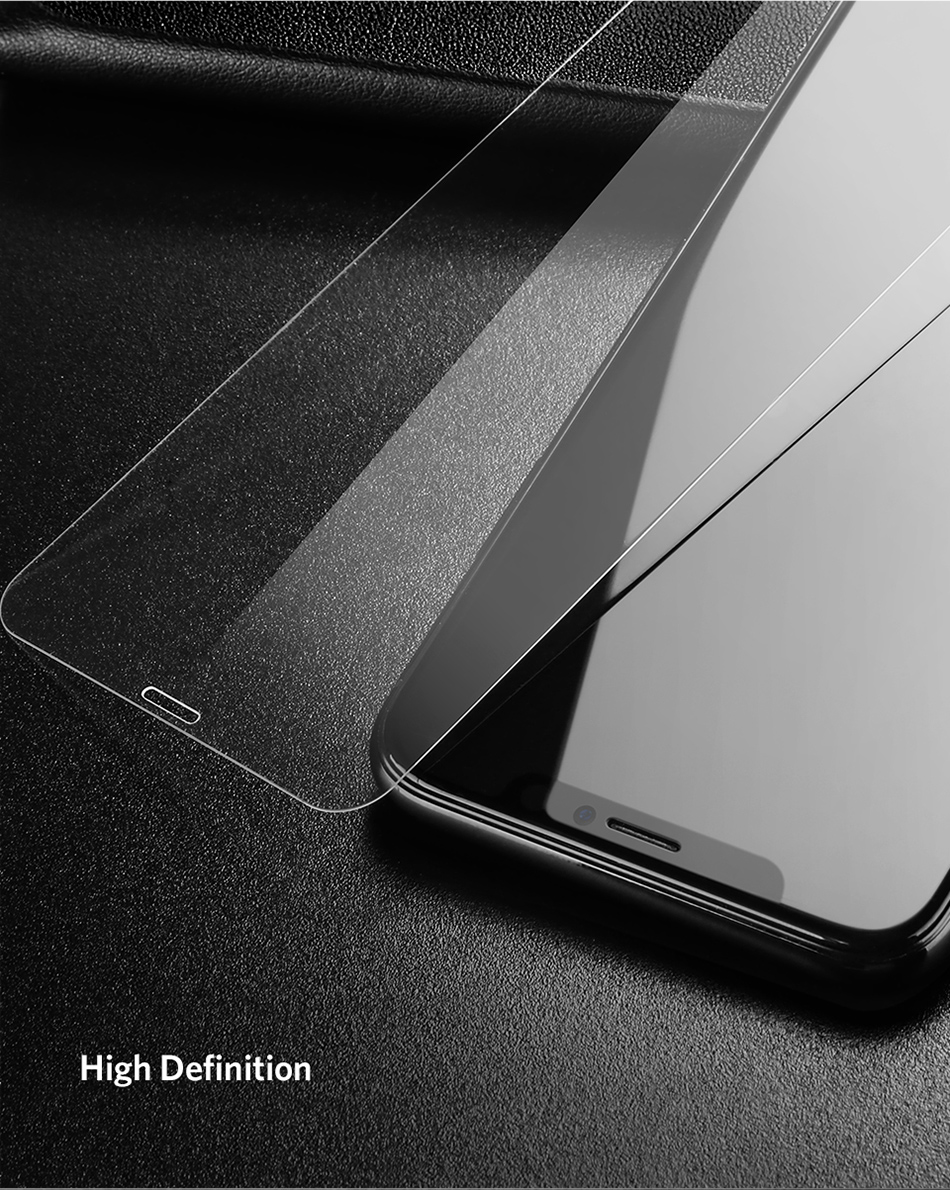 Benks Thin 0.15mm Tempered Glass For iPhone XS 5.8'' XS MAX 6.5'' XR 6.1HD Full Cover Screen Protector Anti Blue Ray Front Film (13)