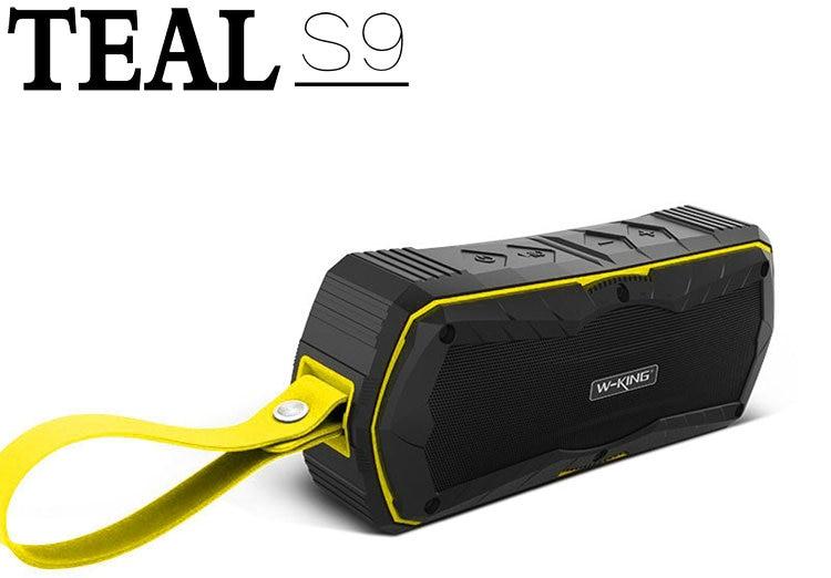 Teal S9 Outdoor Waterproof Bluetooth Speaker Portable Wireless Handsfree  mini Stereo Speaker Power Bank with 4000mAh Battery f4dab17b42e51