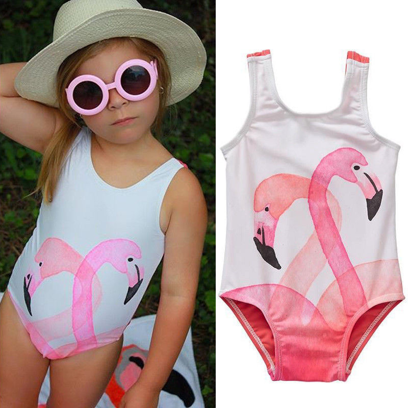 Summer Baby Girl Kid Cute Swimwear Bikini Set Swimsuit