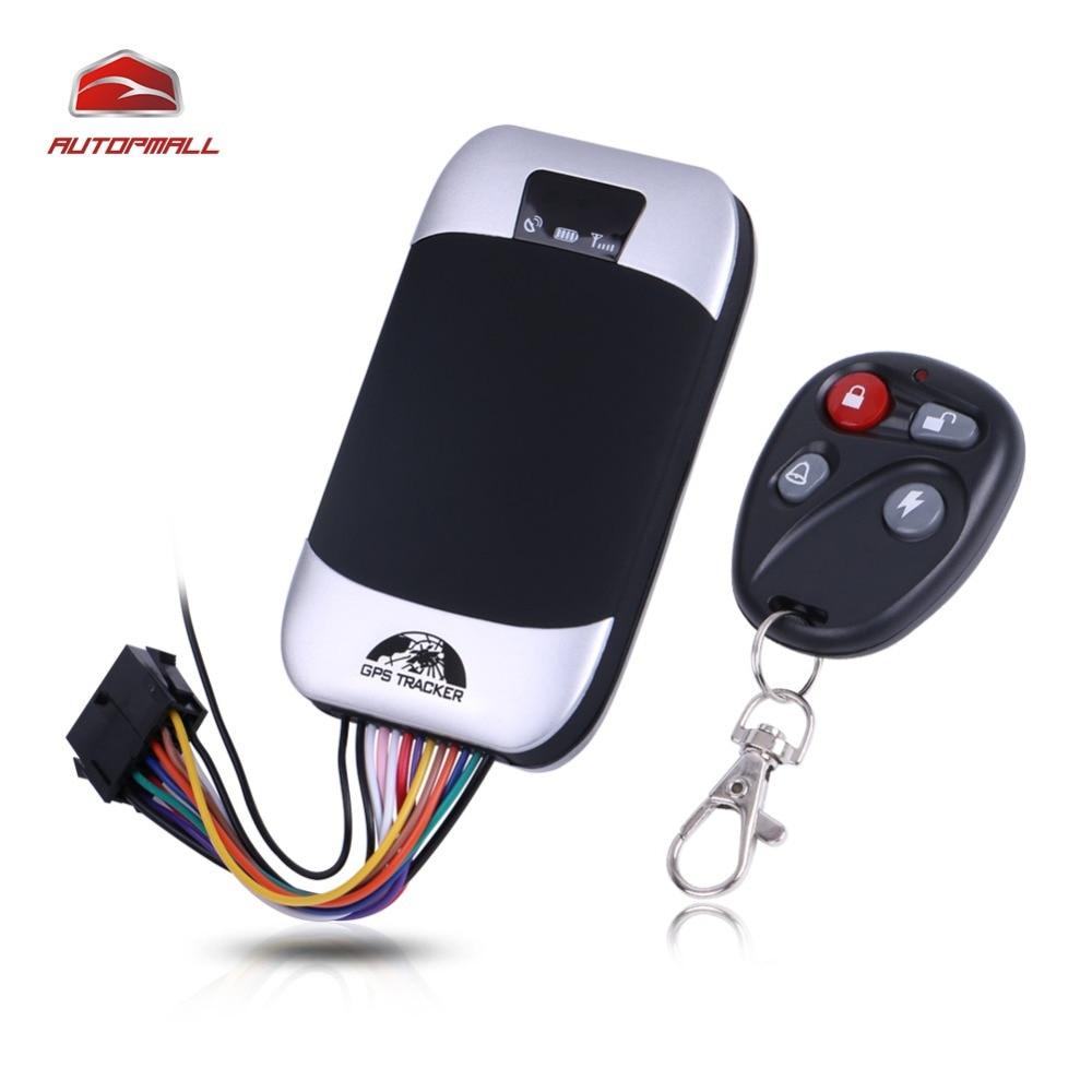 Автомобиль GPS Tracker корабля GSM GPS локатор Кобан TK303G Водонепроницаемый IP66 Дистанционное управление отрезать Двигатели для автомобиля geofence Бесплатная веб-приложение