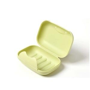 Image 4 - 1PCS Plastic Portable Soap Holder Tray Travel Box Plate Home Bathroom Shower Travel Container Dispenser Soap Racks Soap Dishes