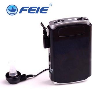 Kieszonkowe aparaty słuchowe pomoce wzmacniacz dźwięku regulowana głośność aparaty słuchowe narzędzia do pielęgnacji uszu dla osób niesłyszących w podeszłym wieku F-16 darmowa wysyłka tanie i dobre opinie FEIE Pocket hearing aid Convenient hidden clear voice AA batteries NO 5 Aluminium Alloy cover 1 year Special service