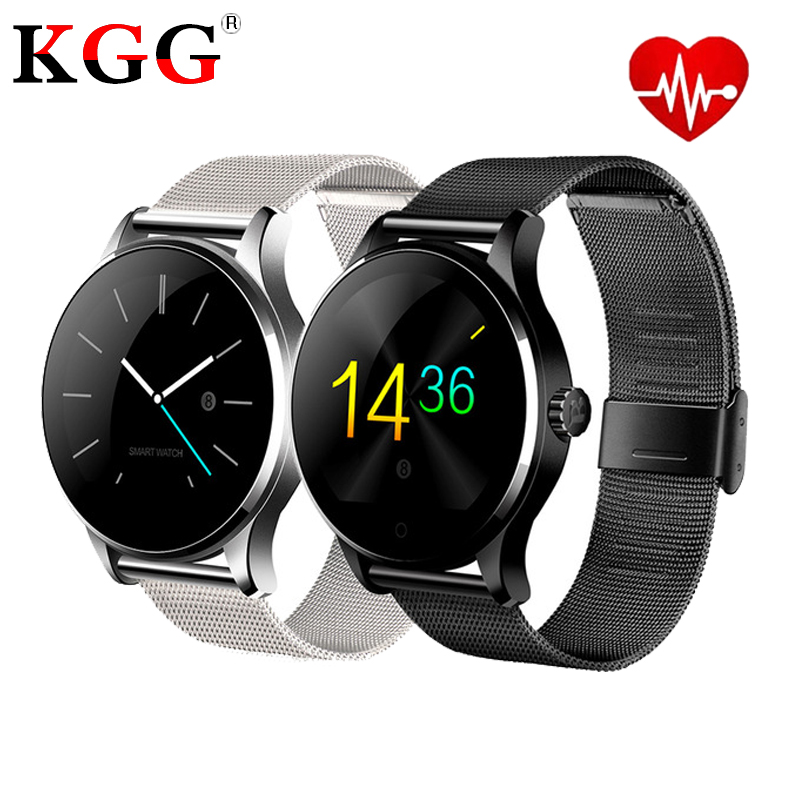 K88H Smart Watch 1 22 Inch IPS Round Screen Support Sport Heart Rate Monitor Bluetooth SmartWatch