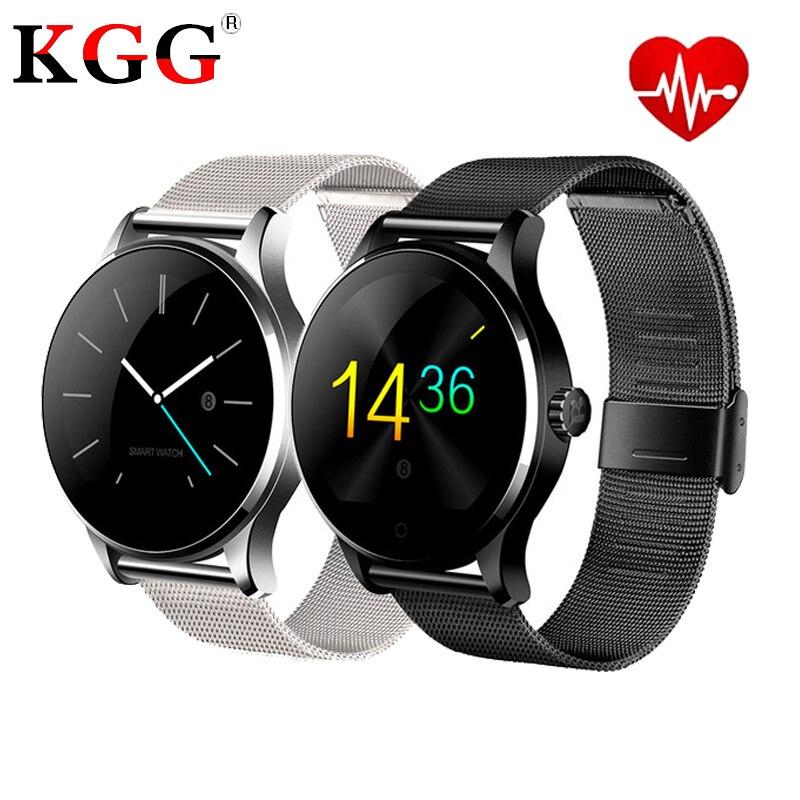 K88H Smart Watch 1 22 Inch IPS Round Screen Support Sport Heart Rate Monitor Bluetooth SmartWatch