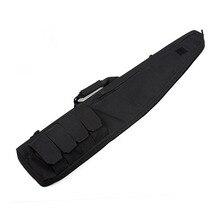 """Пистолет сумка 120 см Черный Tan 600D непромокаемый из ткани """"Оксфорд"""" воздушный фильтр охотничья сумка OS12-0013"""