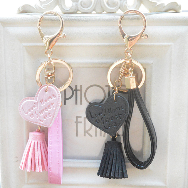 Heart Shaped Pendant Phone Straps