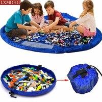 150cm Portable Play Mat Storage Organizer Bag Sundries Kids Children Toy Bathroom Universal Organizer Blanket