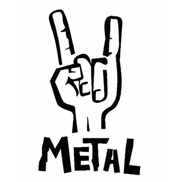 heavy metal sticker vinyl decal electric bass guitar rock rh aliexpress com Multiple Heavy Metal Band Stickers heavy metal band stickers