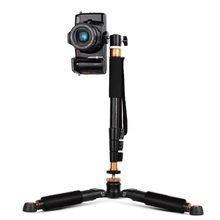 Moveski Q148 selfie stick monopod + Q166A table mini tripod