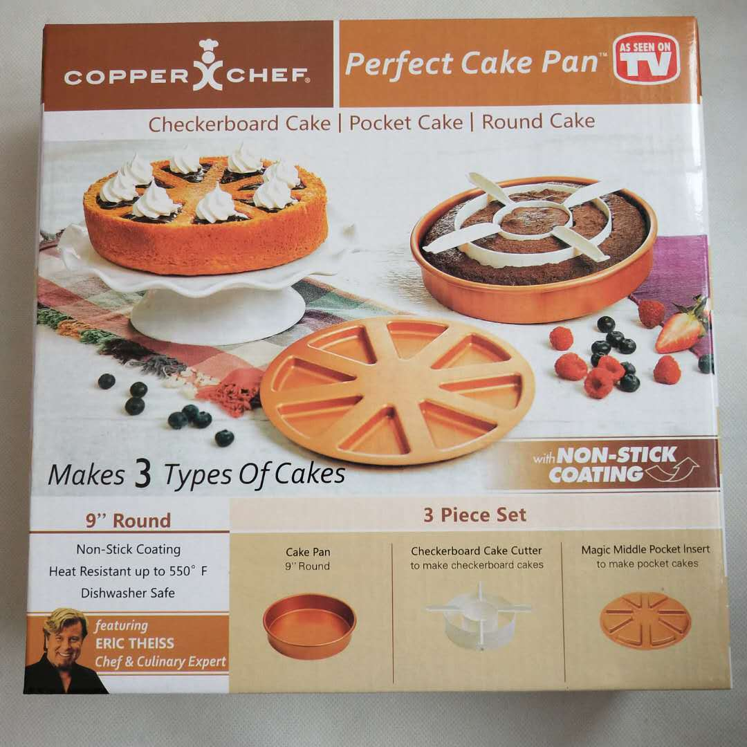 Cake Mold Copper Chef 1