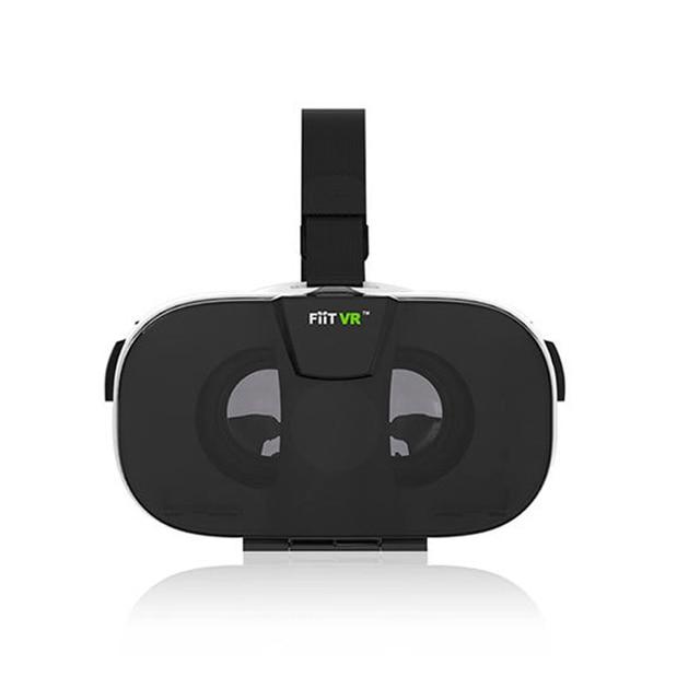 FIITVR 2N Google cardboard VR BOX Virtual Reality 3D Glasses 4.0-6.5 Video Movie Helmet for Smartphone+Bluetooth