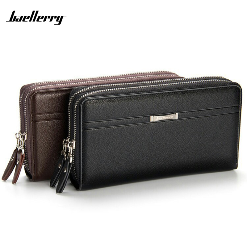 Baellerry Fashion PU Wallet For Men Clutch Bag Hand Bags Brand Purse Quality Guarantee  baellerry business wallet clutch long men purse hot sale card holder designer hand bags for man handy bags bid162 pm49
