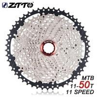 ZTTO MTB 11 Speed Cassette 11s 11 50T L Mountain Bike Freewheel Wide Ratio For Shimano