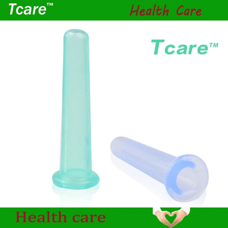 Tcrae 1 дана Көз шағын силикон массаж шкафы бет массаж релаксация cupping шыны тері күтімі күтімі Денсаулық сақтау Сұлулық құралдары