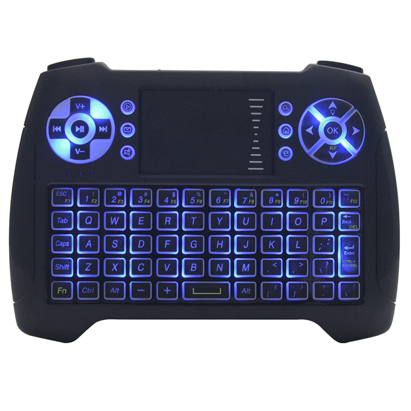t16 mini wireless keyboard backlit with backlight 2 4g fly air mouse remote controlers best. Black Bedroom Furniture Sets. Home Design Ideas