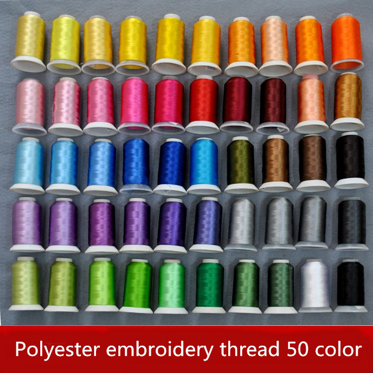 Online buy wholesale rayon machine embroidery thread from