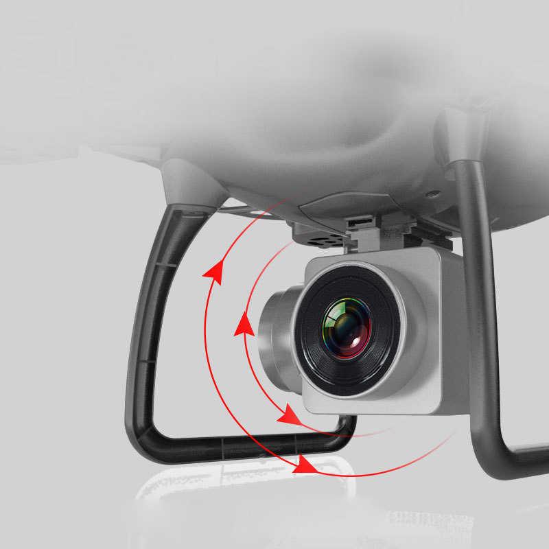 RC Drone dengan Kamera HD 720 P/1080 P Lebar Drone Profesional Quadcopter Headless Salah Satu Kunci Kembali Sensor Gravitasi APP Kontrol KY101
