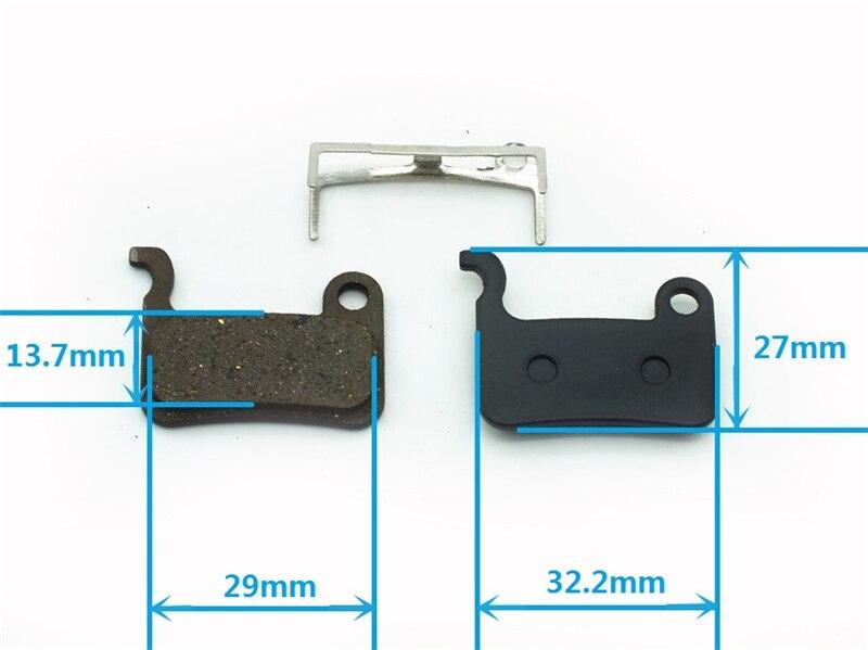 Металл/Смола MTB велосипедные тормозные колодки для Shimano XTR m975 M966 M965 Saint M800 XT M775 M776 m765 SLX M665 отточить m601 M596 M595