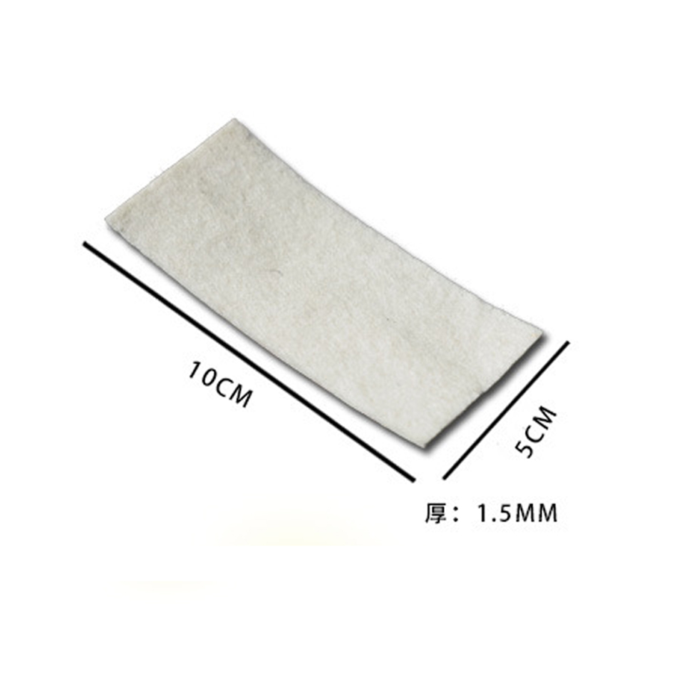 Image 2 - 5*10.5cm Pre Cut Felt Squeegee Edge Wool Felts Back Glue Adhesive Anti scratch Replacement 10pcs/Pack MO 20E-in Car Stickers from Automobiles & Motorcycles