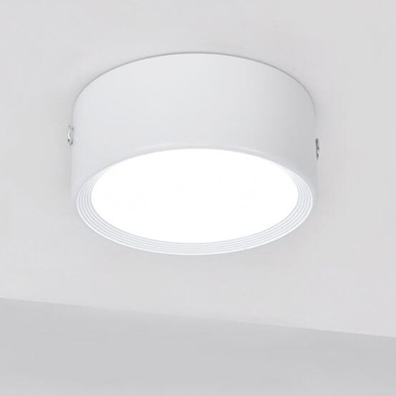 Hot Sale 7W 12W LED Surface Mounted Ceiling Light LED Display Cabinet Lights Ultra Thin Driverless cob led spot lights in LED Downlights from Lights Lighting