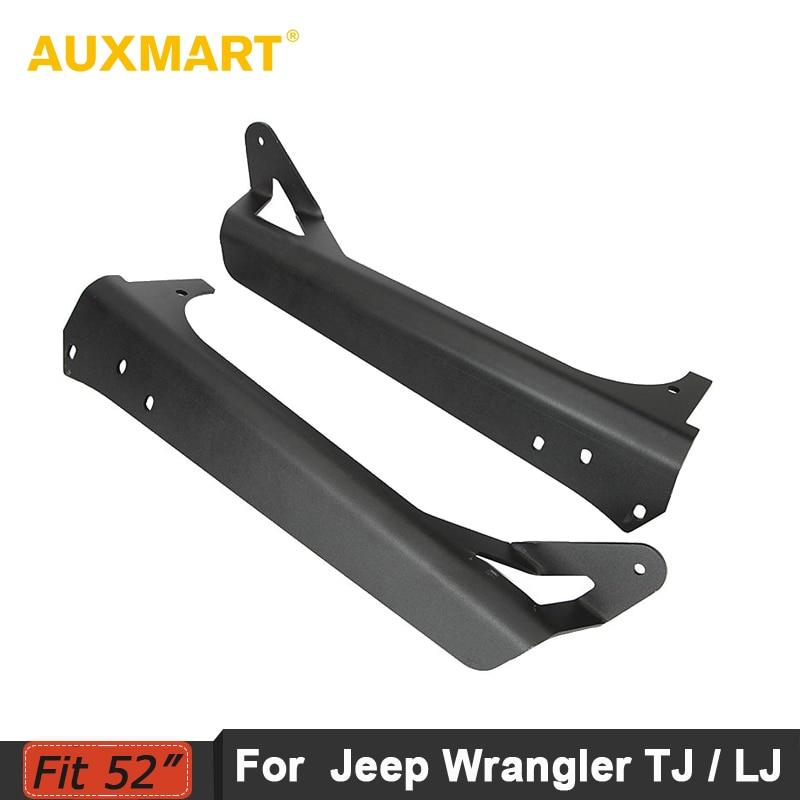 Auxmart 52inch прямой свет бар монтажные Кронштейны для Wrangler TJ и 4WD с 1997-2006 / Спорщик неограниченное ЖЖ 4WD в 2004-2006