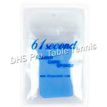 61second Table Tennis Rubber Care Sponge for Ping Pong Racket Bat Paddle Table Tennis Accessories Racquet Sports(China)