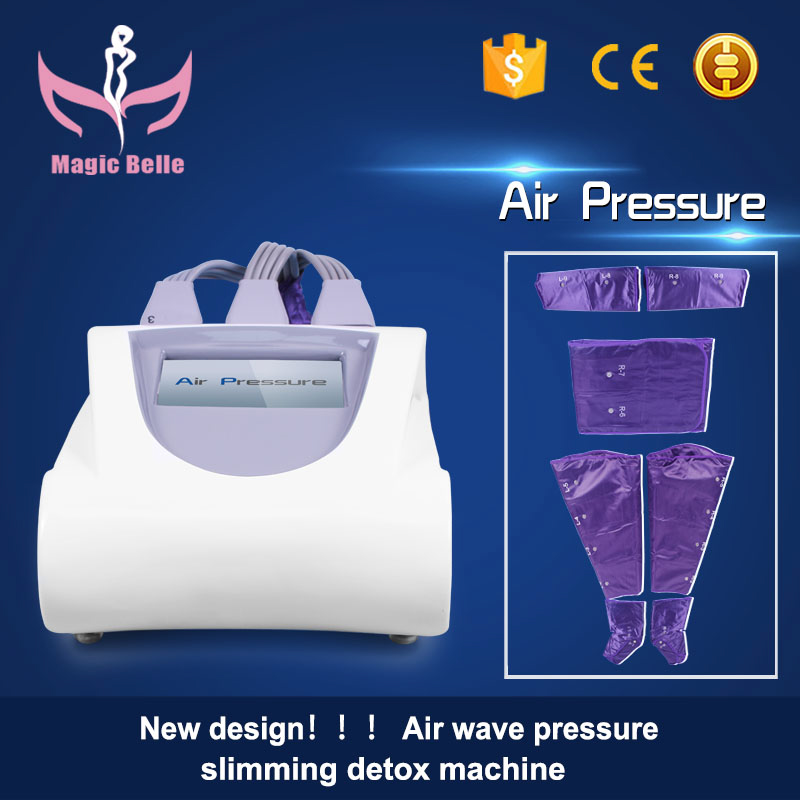 Best discounts!! Air Pressure Massager Lymphatic Drainag blood circulation Detox Suit Machine for Weight loss for Salon