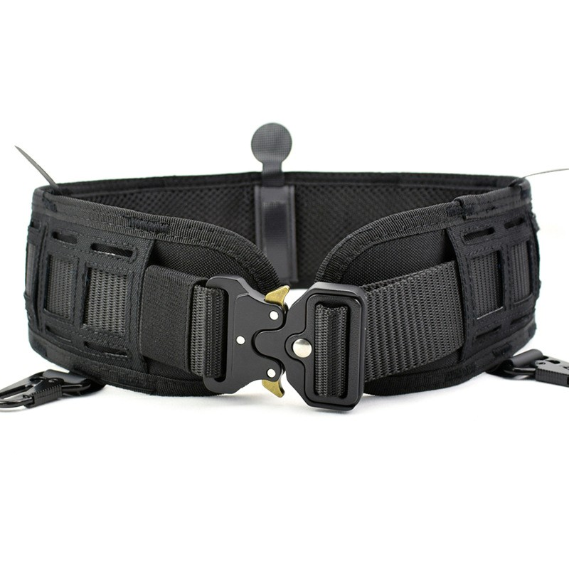 Airsoft Tactical Belt Molle Girdle Hunting Wargame Paintball Padded Belts Military Army Waist Support Inner Outer