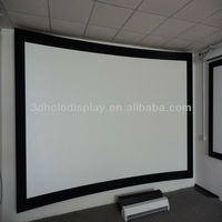 92 Inch Curved Frame Projector Screen Curved Frame Screen 92 Inch 16 9 Curved Screen For