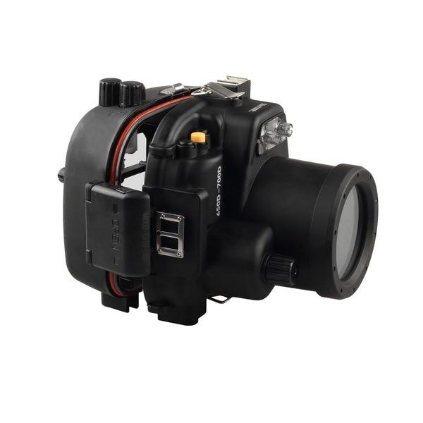 40M 130ft waterproof underwater camera housing case for Canon 650D 700D T4i T5i DSLR