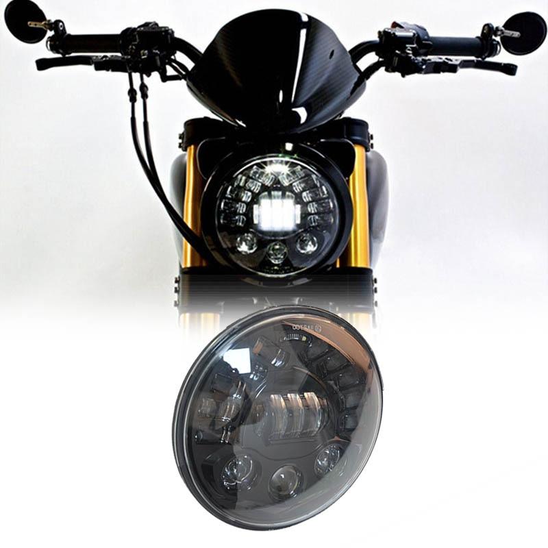 Мотоцикл аксессуары 7 Ангел глаз налобный фонарь для Harley Softail Touring Trike Daymaker проектор 7 дюймов светодиодный фар