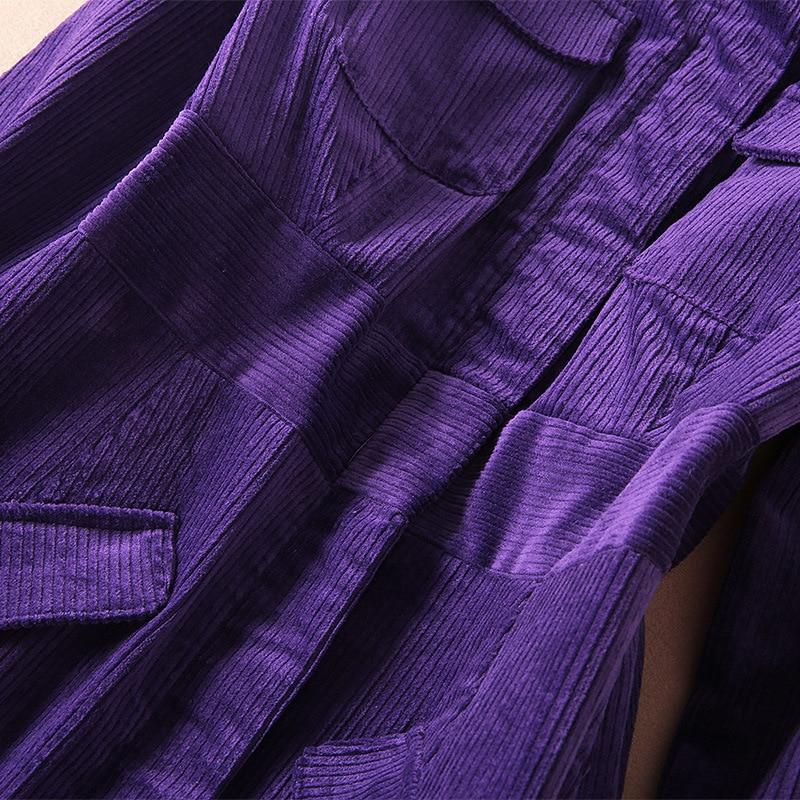 Colore Inverno Autunno Delle Qualità Nuova Vestito shirt T Velluto Manica Lungo Da Modo Donne Della Righe Lunga Di Pista Partito Solido A Alta wx6A5t