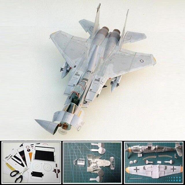 Aliexpress.com : Buy Paper Model Airplane US F 15 Eagle