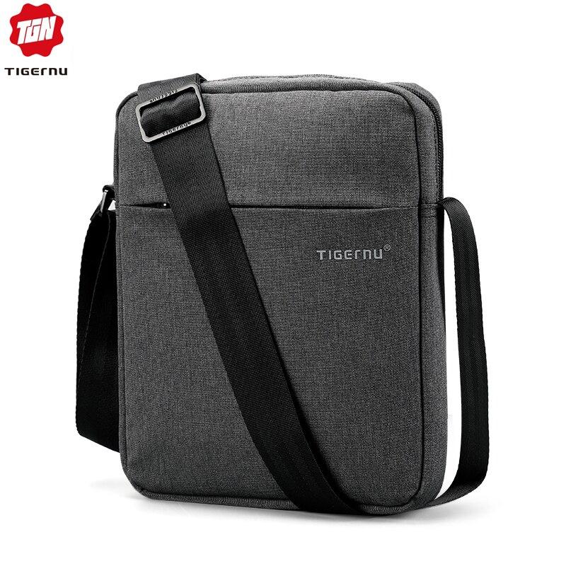 Tigernu de la marca de los hombres de la bolsa de mensajero impermeable de alta calidad bolsa de hombro para las mujeres de negocios bolso