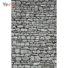 Yeele Gray Stone Brick Wall Retro Baby Newborn Photography Backgrounds Personalized Photographic Backdrops For Photo Studio