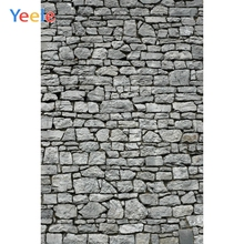 Yeele Grunge Gray Stone Brick Wall Scene Retro Baby Photography Backgrounds Personalized Photographic Backdrops For Photo Studio