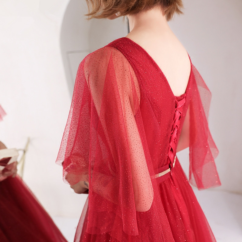 Rosso sconto Dell'abito Partito 8