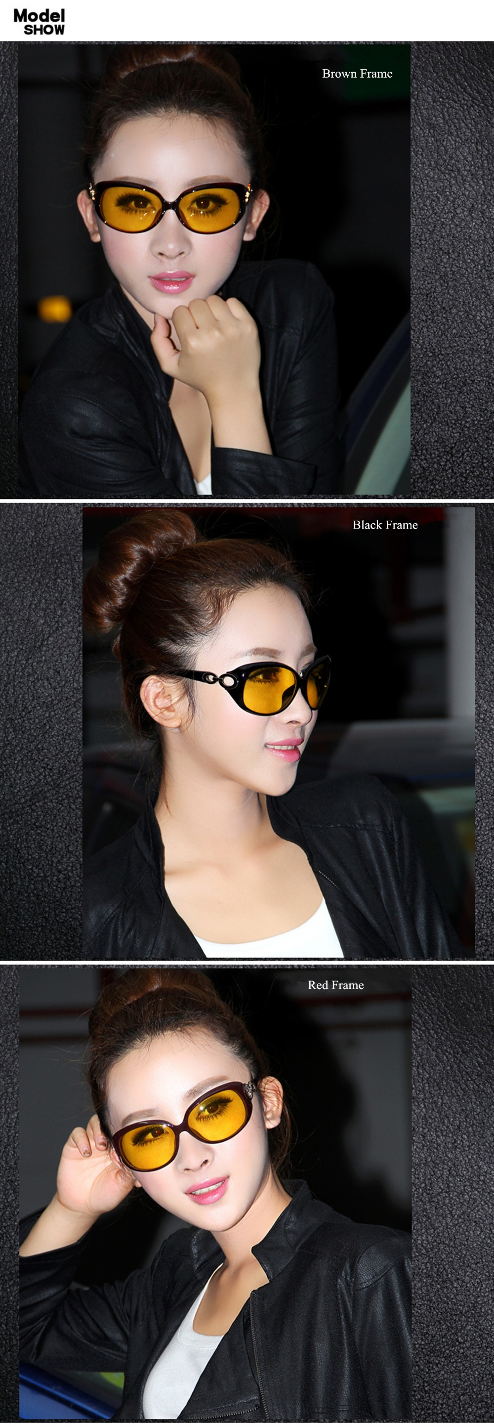 64d3042a127 Chashma Yellow Lenses Gafas Women Night Driving Glasses Driver ...