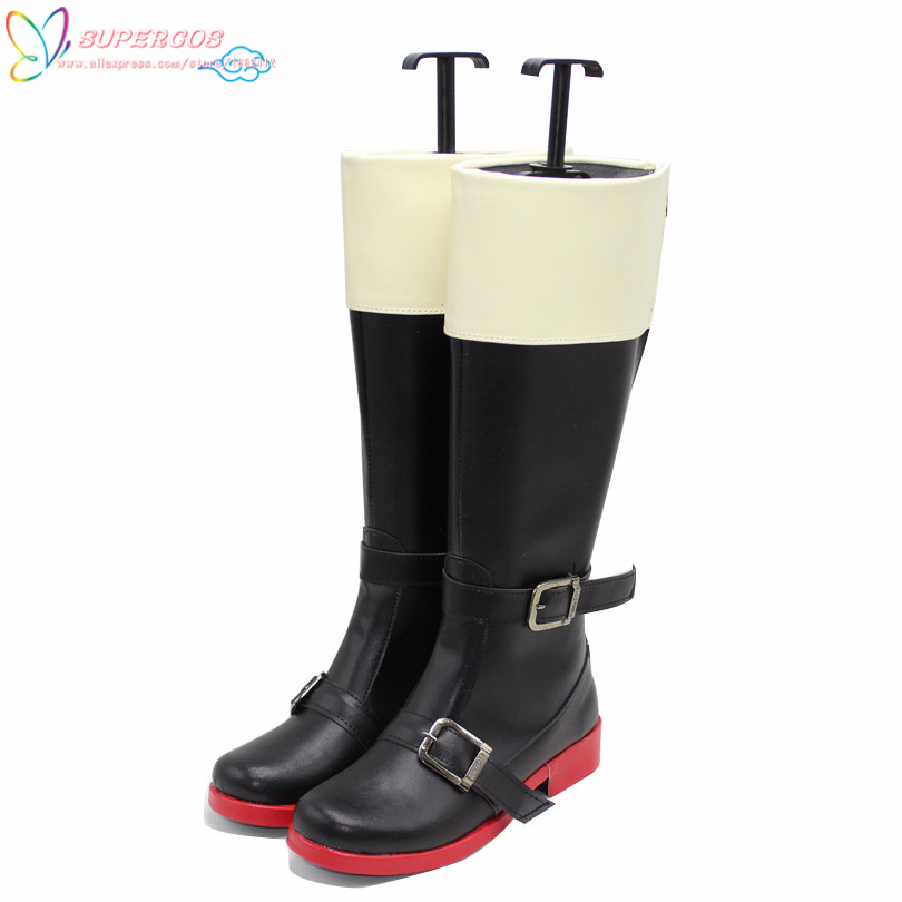 Free Shipping ! FINAL FANTASY FF15 Prompto Cosplay Carnaval Shoes Boots Professional Handmade !