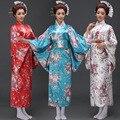 Новая Мода Дамы Темперамент Сакура Халат Пижамы Традиционные Японские Кимоно Японской Платье Костюм Япония Кимоно
